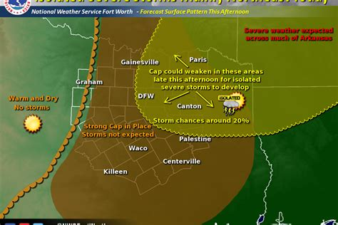 east texas weather map a strong cap is in place across texas for today and will likely be difficult to