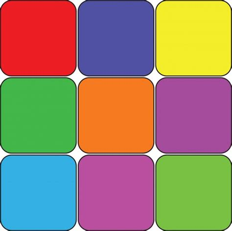 colorful colors 9 colored squares free stock photo public domain pictures