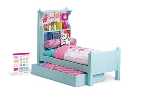 Trundle Bed Bedding Sets American Doll Bouquet Wood Trundle Bed Set Bedding Comforter New Retired Ebay