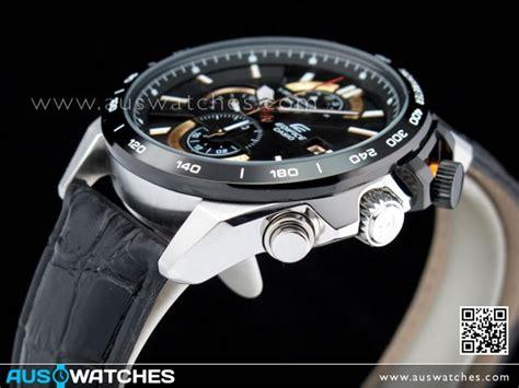 Casio Edifice Ef 520 Gold Black 1 buy casio edifice chronograph black gold leather efr 520l 1av efr520l buy watches