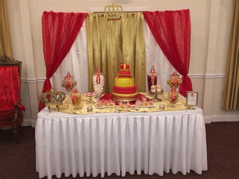 cake table backdrop prince baby shower cake table and backdrop royal