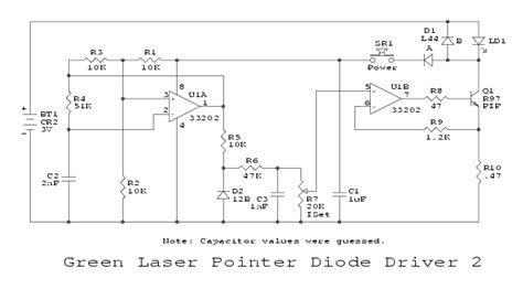laser diode driver circuit pdf sam s laser faq components html photos diagrams and schematics
