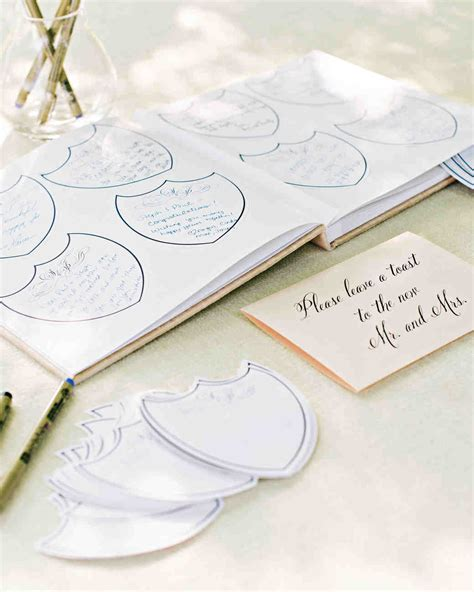 Wedding Wishes Guest Book by 68 Guest Books From Real Weddings Martha Stewart Weddings