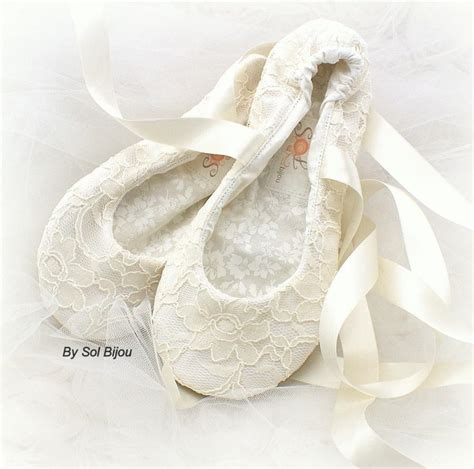 ivory slippers wedding wedding flats ivory ballet flats reception lace flats