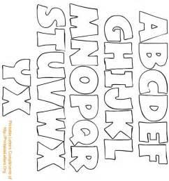 Alphabet Template alphabet letters templates