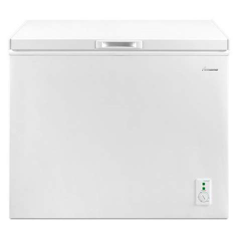 Small Chest Freezers Home Depot Amana 7 0 Cu Ft Compact Chest Freezer With Deepfreeze