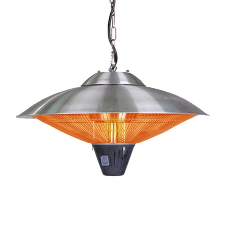 Sense Hanging Halogen Patio Heater by Sense Hanging Stainless Steel Halogen Patio Heater
