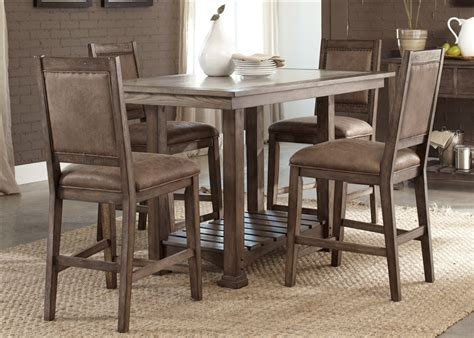 hyland counter height dining room table hyland counter height dining room table and barstools set