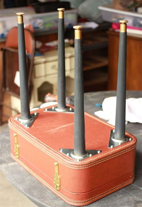 chalk paint upcycling diy vintage suitcase table chalk paint diy how to