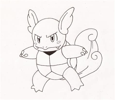 pokemon coloring pages wartortle free coloring pages of pokemon pokemon wartortle