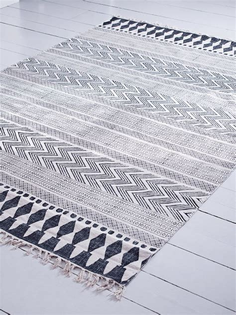 tapijt jysk affordable block print rug cotton rugs material luxury
