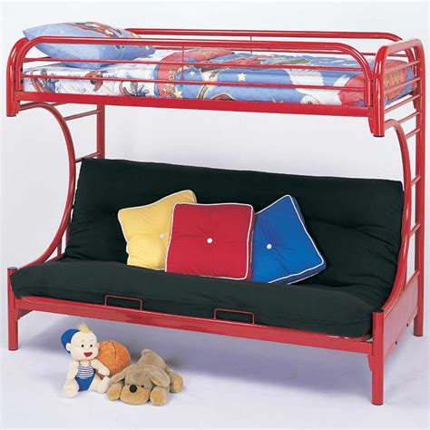 child futon bunk beds for teens bedroom