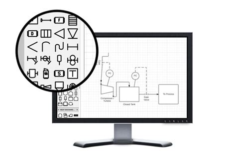 process and instrumentation diagram software p id software lucidchart