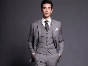 Com buy men grey suit 2015 mens wedding suit tailored smoking suit