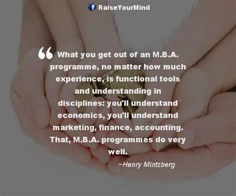 How Much Does Matter For Mba by Raise Your Mind Finance What You Get Out Of An M B A