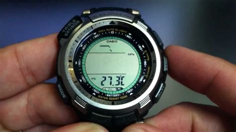 Casio Prg 110 1v Tough Solar casio protrek solar power prg 110 1v