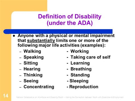 department of justice disability rights section training session 1 disability overview ppt download