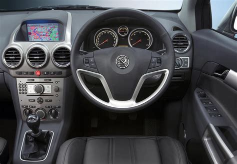 New Vauxhall Antara Interior World Activity