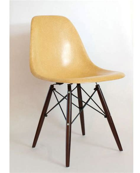 herman miller shell chair parts vintage eames shell chair by herman miller orange blush