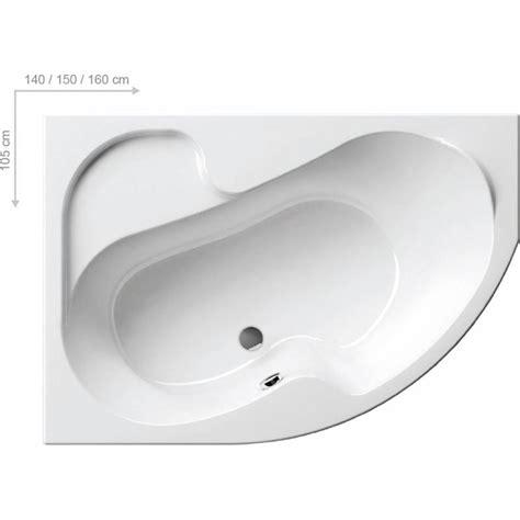 baignoire d angle asymetrique baignoire d angle gain de place rosa