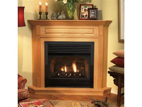 How To Make A Gas Fireplace More Efficient by Corner Gas Fireplace More Efficient The Wooden Houses