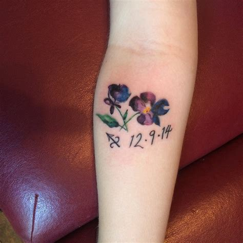 watercolor tattoo violets watercolour violet by solarkei on deviantart