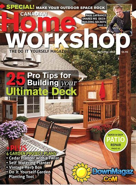 canadian woodworkers woodworking magazine canada diy woodworking project