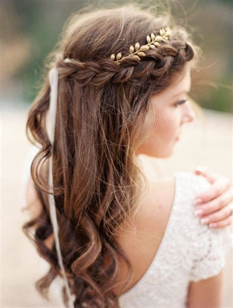 Geflochtene Haare Hochzeit by Half Updo Hairstyle Ideas For Hair Haircuts And