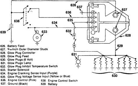 repair guides diesel fuel system glow plugs