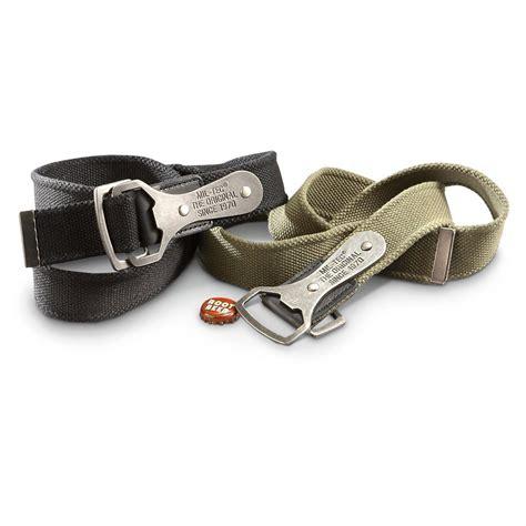 Belt Bottle Opener by Mil Tec Bottle Opener Belts 2 Pack 232851 Belts