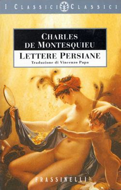 montesquieu lettere persiane lettere persiane sperling kupfer editore