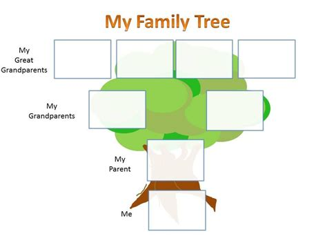 family tree template for kids school family tree project kids family history and
