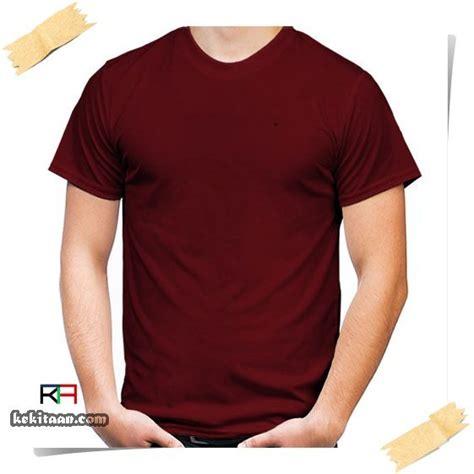 Kaos Polos Warna Maroon jual kaos polos lengan pendek warna merah marun grosir di