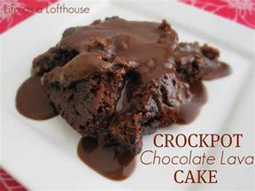 crockpot chocolate lava cake life in the lofthouse