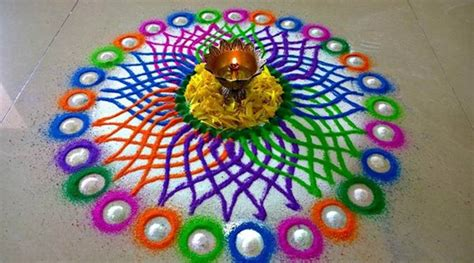 Diwali Decorations For Home diwali 2017 special 10 amazing rangoli designs and ideas