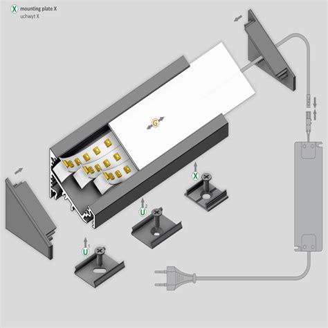 vendita illuminazione led profilo angolare strisce led corner27 vendita illuminazione