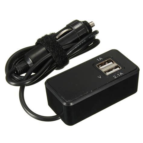 Car Charger 2 Usb 2 1a Charger Mobil 2 Usb 12v 24v car monitoring battery 2 usb 1a 2 1a port socket charger alex nld