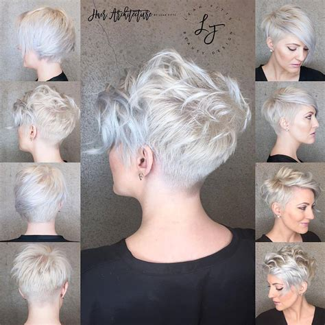 short trendy haircuts for women 2017 30 trendy short hairstyles for thick hair women short