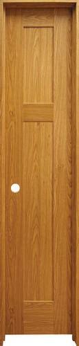 Prehung Prefinished Interior Doors Mastercraft Prefinished Craftsman Flat 3 Panel Prehung Interior Door At Menards 174