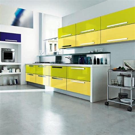 Kitchen Colour Schemes 10 Of The Best | lime green kitchen summer colour schemes and home trends