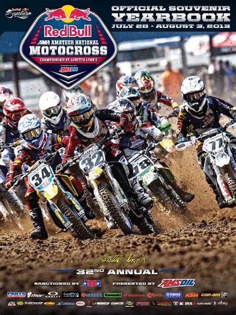 ama motocross sign up 2013 loretta lynn s program by dmc programs issuu