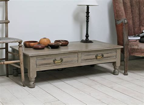 Painting Coffee Table Distressed Painted Coffee Table By Distressed But Not Forsaken Notonthehighstreet