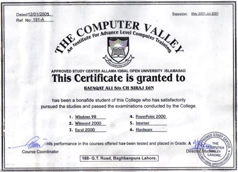 computer certificate templates computer certificate template 28 images computer