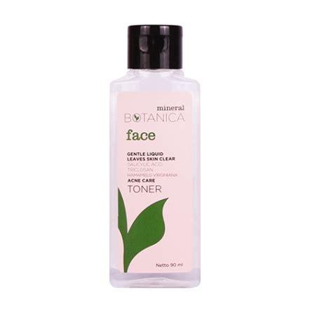 Harga Mineral Botanica Acne Care Toner rekomendasi toner lokal untuk kulit berminyak dan berjerawat