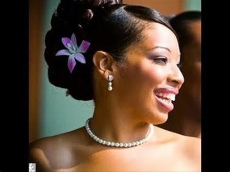 bridal hairstyles in nigeria 2015 50 wedding hairstyles for black and african women youtube
