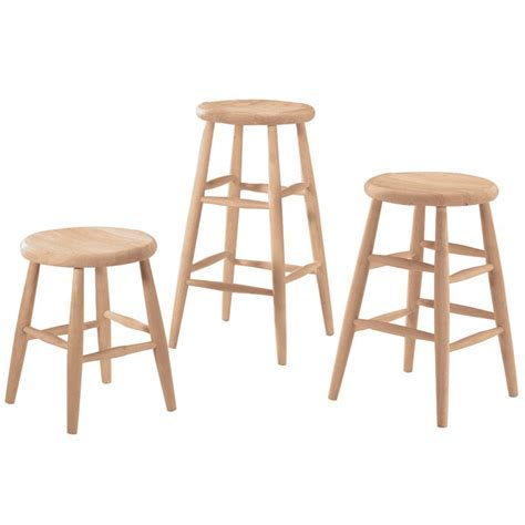 unfinished wood bar stools wholesale scoop seat bar stool and counter stool