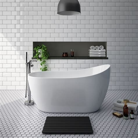 turin  small modern slipper  standing bath