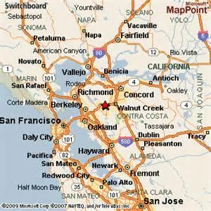 lafayette california map lafayette california