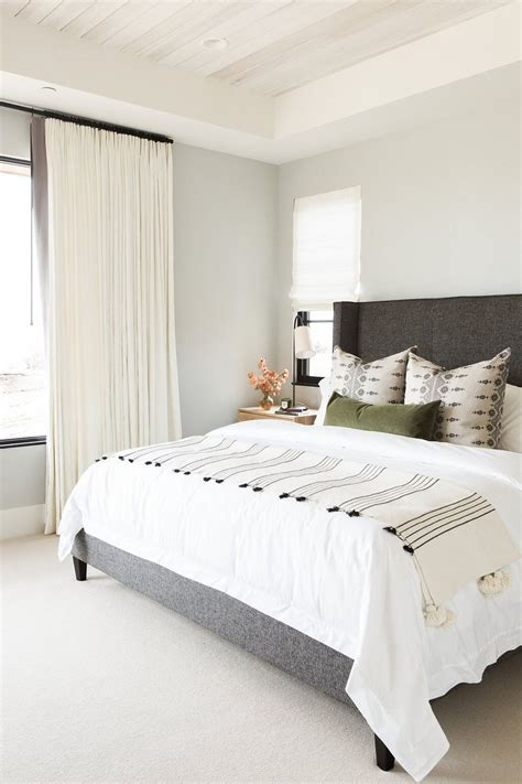 bedroom with white carpet mountain home perfection lark linen