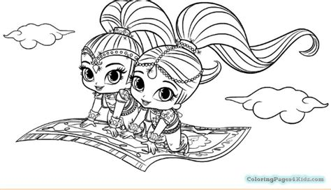 shimmer and shine coloring pages nick jr shimmer and shine coloring pages printable coloring